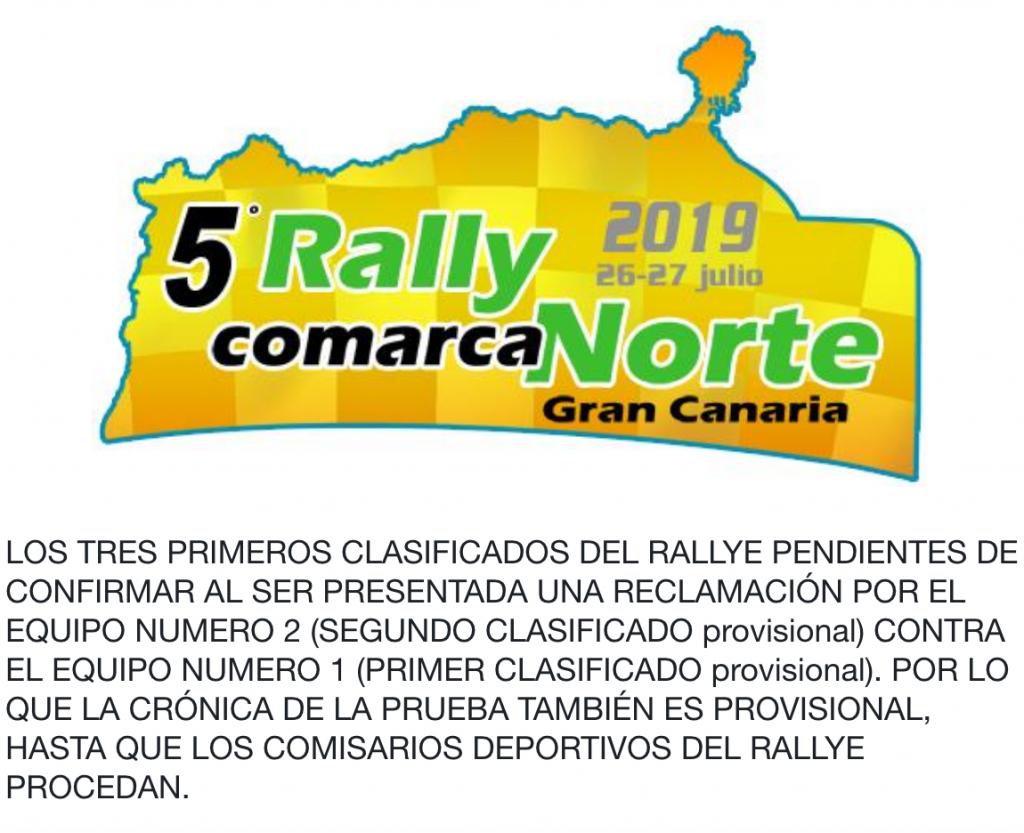 Comunicado rally.